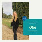 Rencontrez Oke, apprentie d'assistante de Direction et Marketing chez Ellcie Healthy
