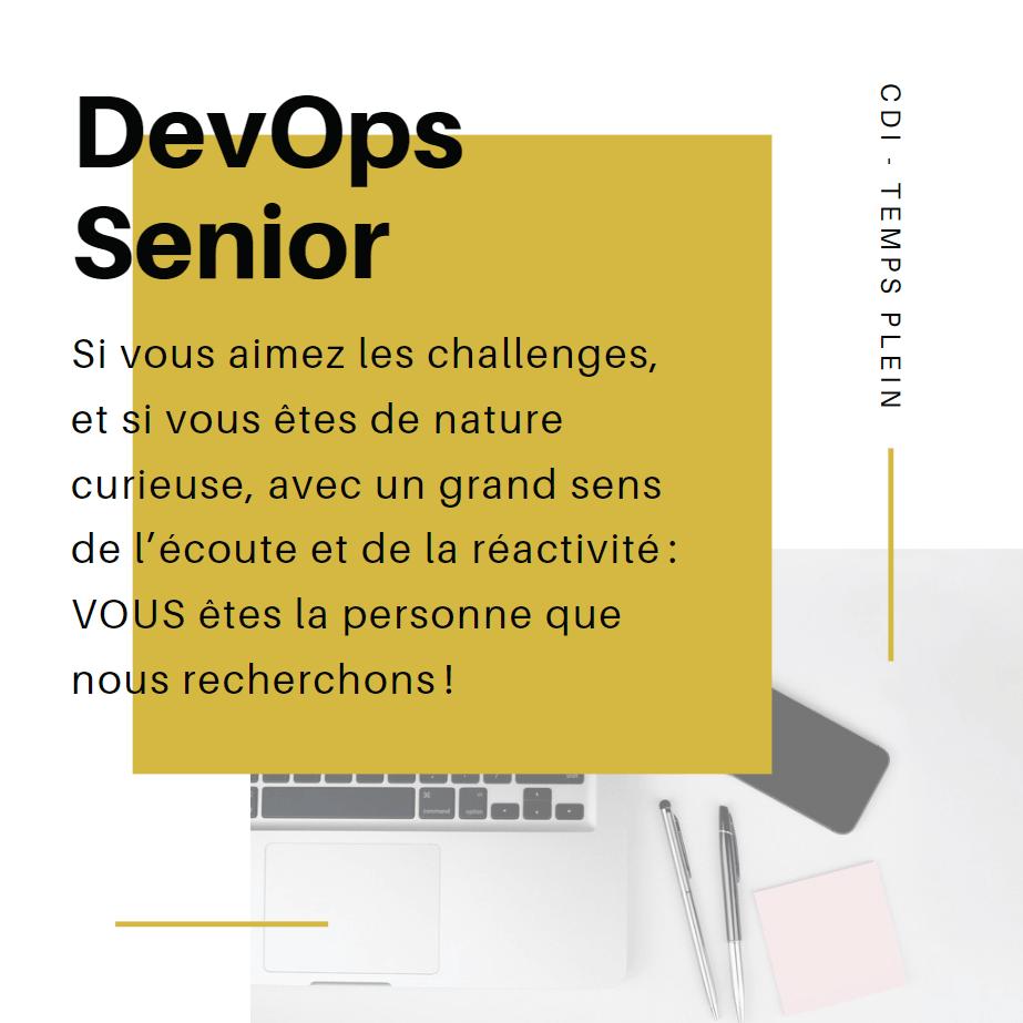 Recrutement CDI Développeur Senior iOS