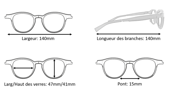 Dimension Lunettes Serenity Eyewear Ronde