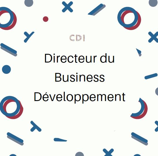 Recrutement CDI Directeur du Business Développement