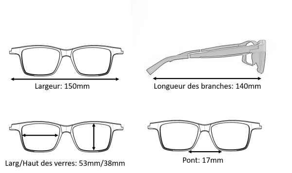 Dimension Lunettes Serenity Eyewear rectangle