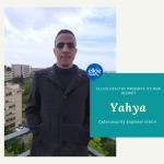 Meet Yahya, cybersecurity Engineer intern at Ellcie Healthy