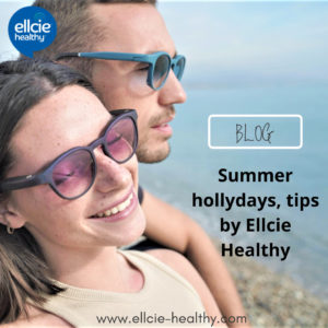Summer hollydays tips by Ellcie Healthy