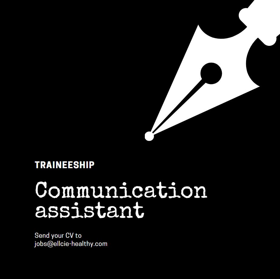 Recrutement Ellcie Healthy Communication assistant