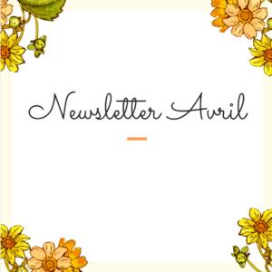 Newsletter – Avril 2020