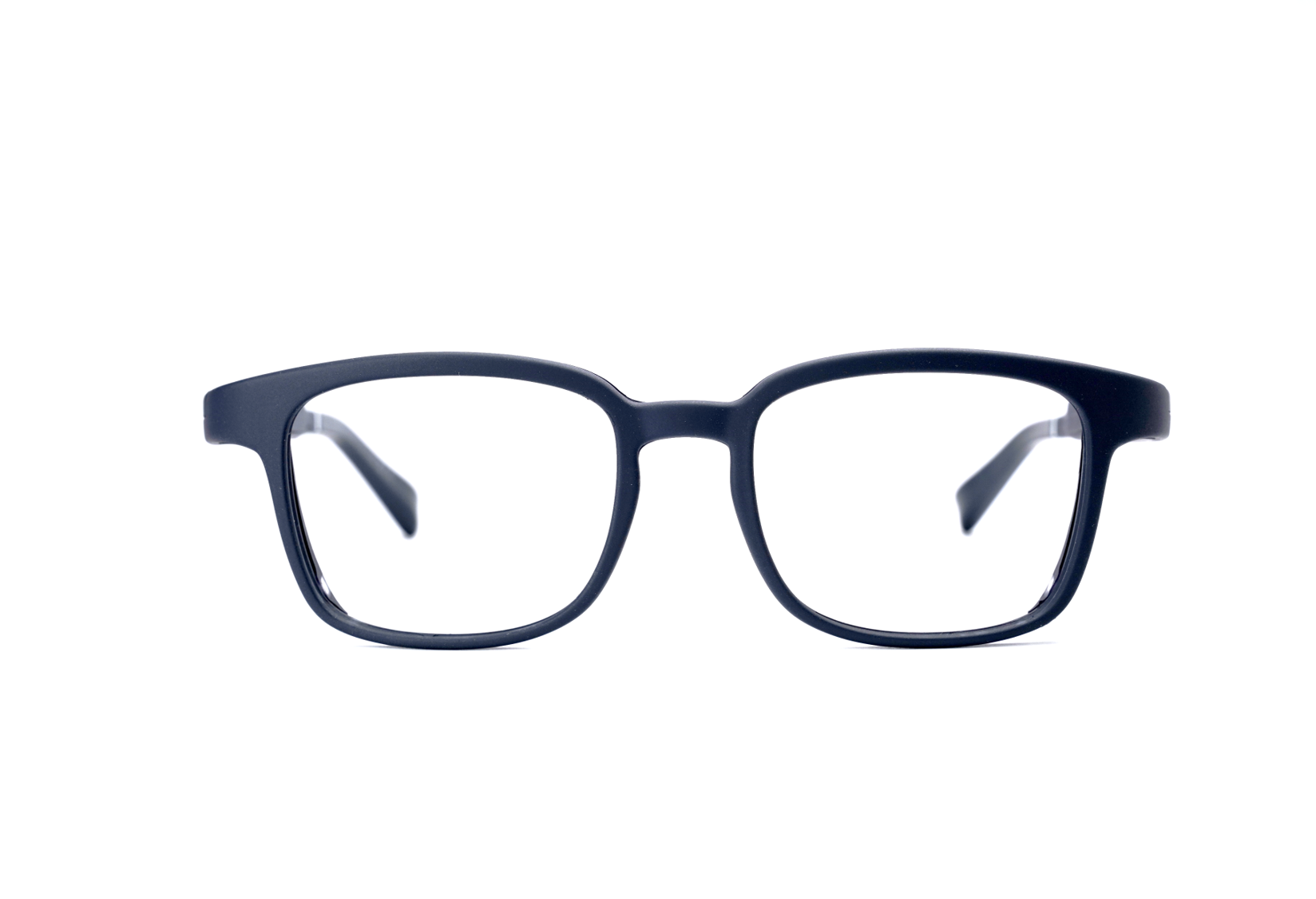 Serenity Eyewear Carré bleu foncé face