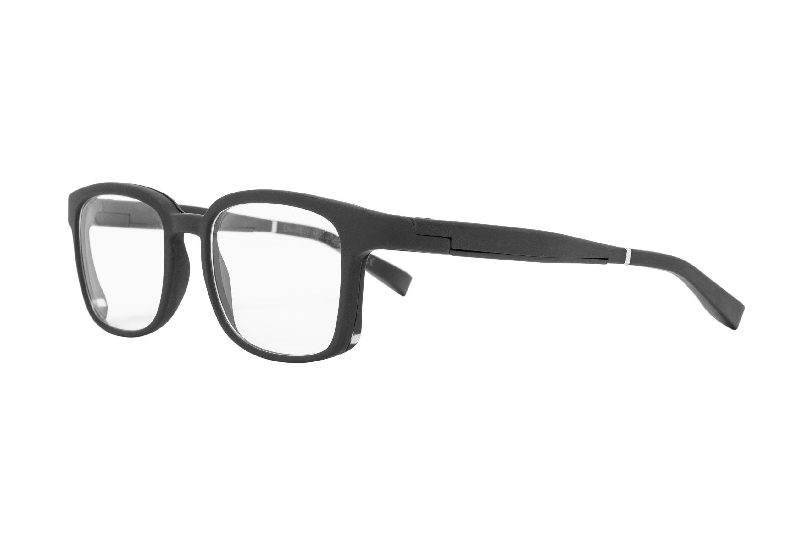Serenity Eyewear Carré noir profil