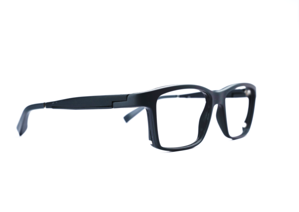 Serenity Eyewear Rectangle gris profil