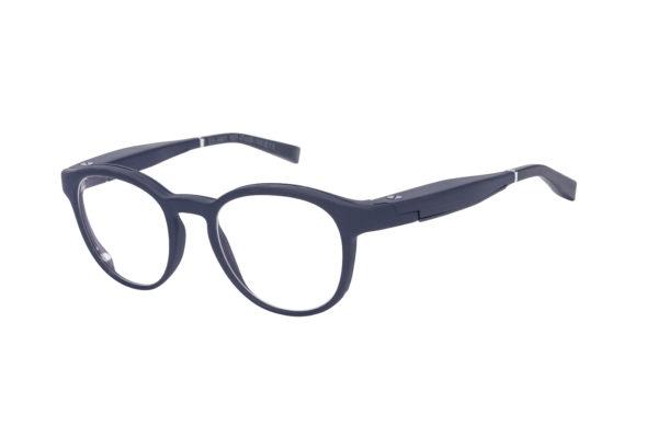 Serenity Eyewear Ronde Bleu profil