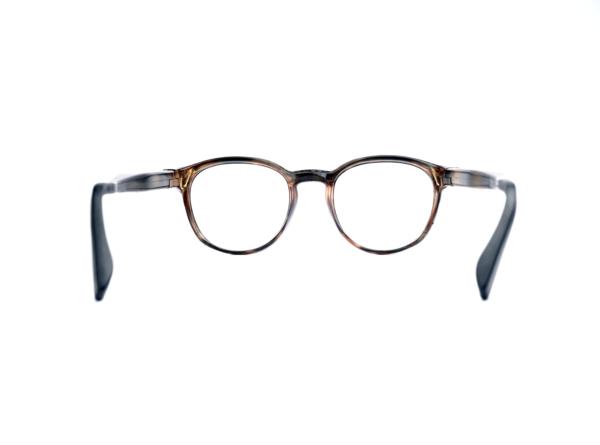 Serenity Eyewear Ronde Ecaille marron dos