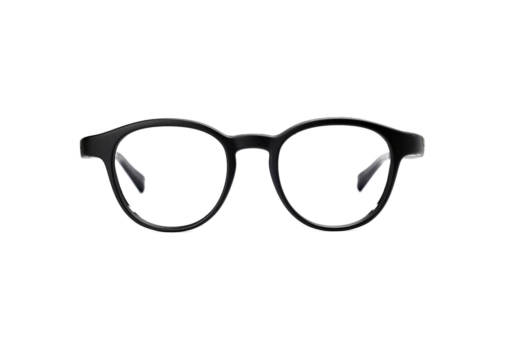 Serenity Eyewear Ronde Noir face
