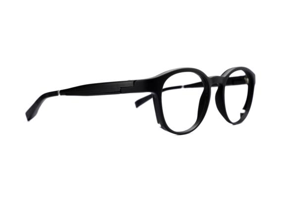 Serenity Eyewear Ronde Noir profil