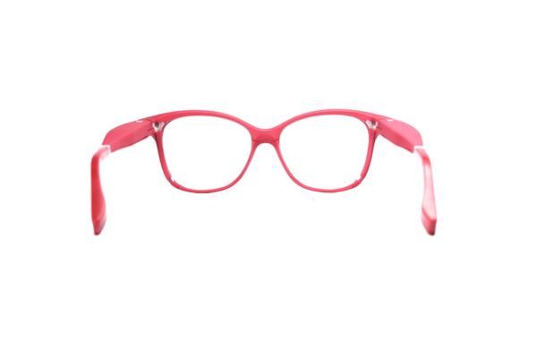 Serenity Eyewear papillon rouge foncé dos
