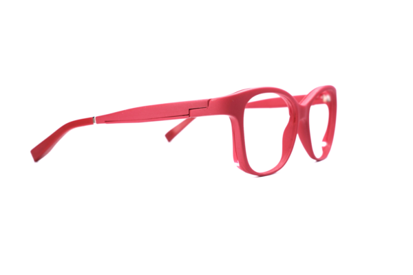Serenity Eyewear papillon rouge foncé profil