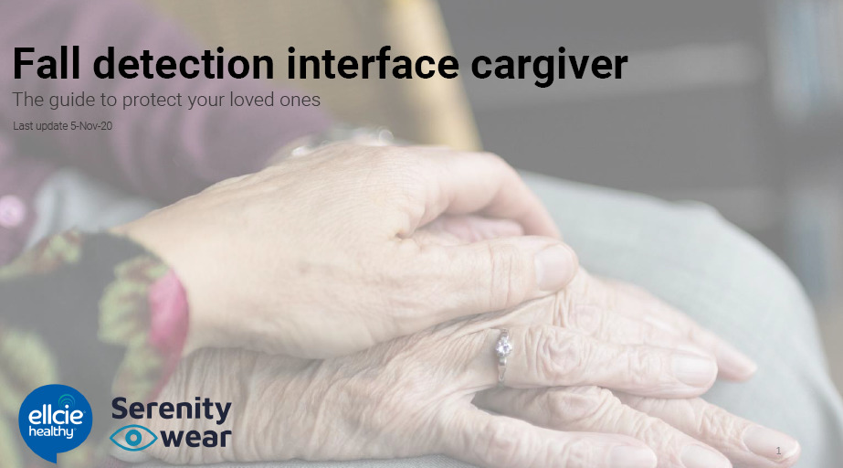 User guide caregiver