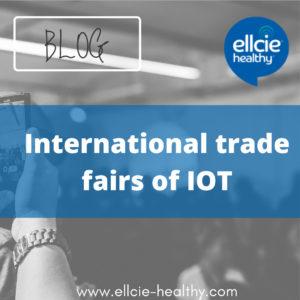 International trade fairs of IOT